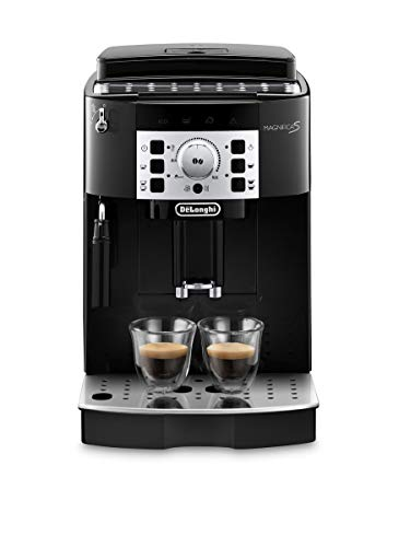 De'longhi Magnifica S - Cafetera Superautomática con 15 Bares de Presión, Cafetera para Espresso y Cappuccino, 13 Programas Ajustables, Sistema de...