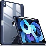 INFILAND Funda Case para iPad Air 4 Generación,iPad 10.9 Inch 2020 Cover Soporte,[Auto-Reposo/Activación Cubierta] [Trasera Transparente] [Carcasa Ligera]...