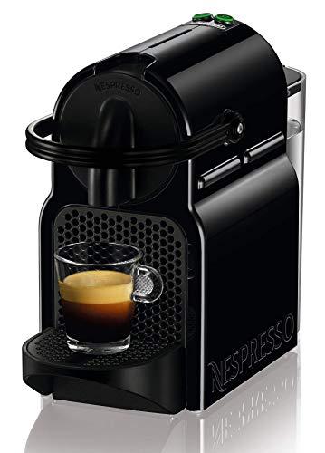 Nespresso De'Longhi Inissia EN80.B - Cafetera monodosis de cápsulas Nespresso, 19 bares, apagado automático, color negro, Incluye pack de bienvenida con 14...