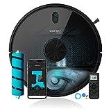 Cecotec Robot aspirador y fregasuelos Conga 6090 Ultra, Láser, Tecnología ciclónica, Aspira, Friega, Barre y Pasa la mopa, RoomPlan, Sensor óptico, APP,...