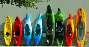 Kayacs, canoas y piraguas
