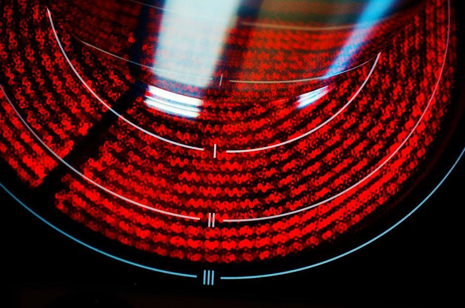 placa vitrocerámica de inducción