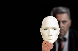 máscara social de un psicópata