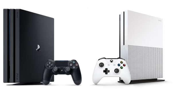 Consolas Playstation y Xbox