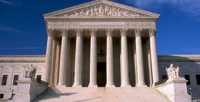 Edificio de la democracia y burocracia