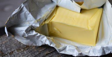 Paquete de mantequilla o margarina