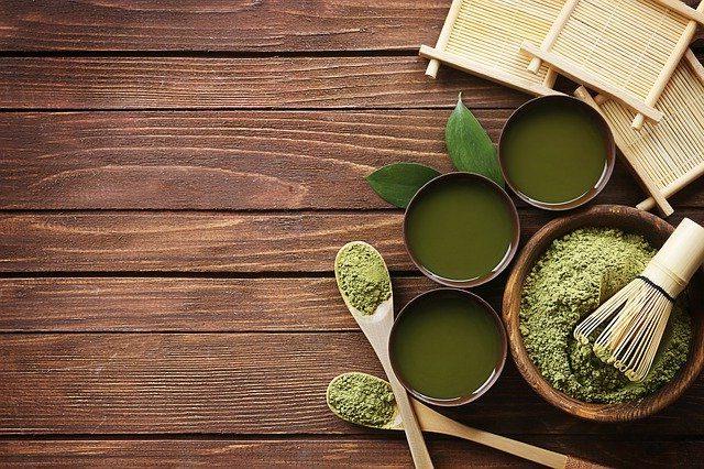 matcha de té verde