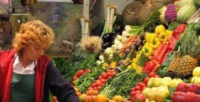 Fruteria de mercado