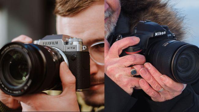 Diferencias entre cámara reflex y sin cristal
