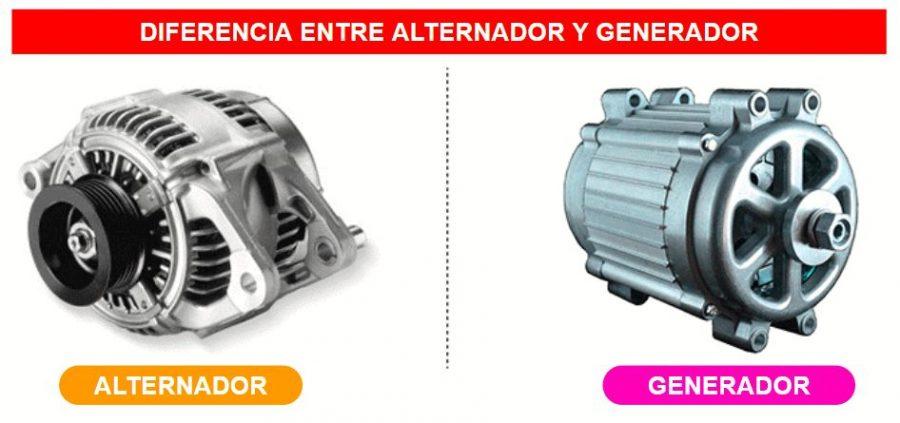 Diferencias entre un generador y un alternador