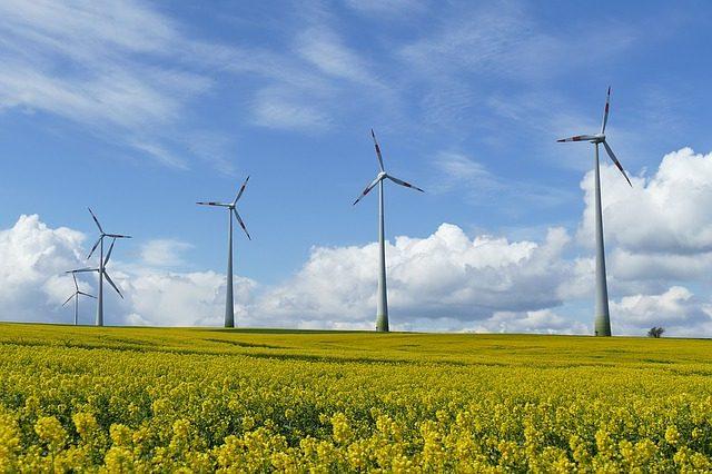 Molinos de energía eólica