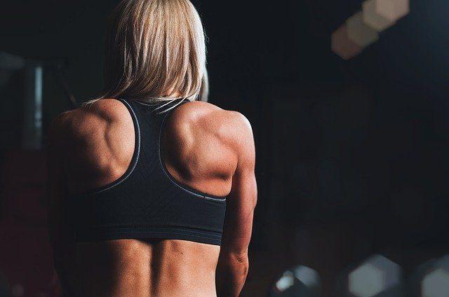 musculos y tendones de mujer