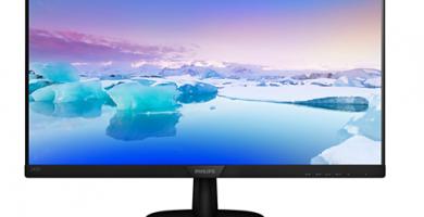Ejemplo de monitor LCD