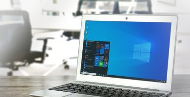 Ordenador portátil con sistema operativo windows