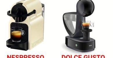 Diferencias de las caferetas Nespresso y Dolce Gusto