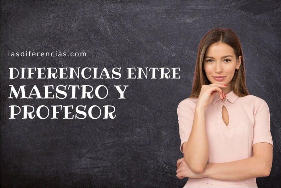 Diferenecias entre un profesor y un maestro