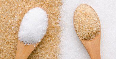 Diferencia entre azucar moreno y blanco