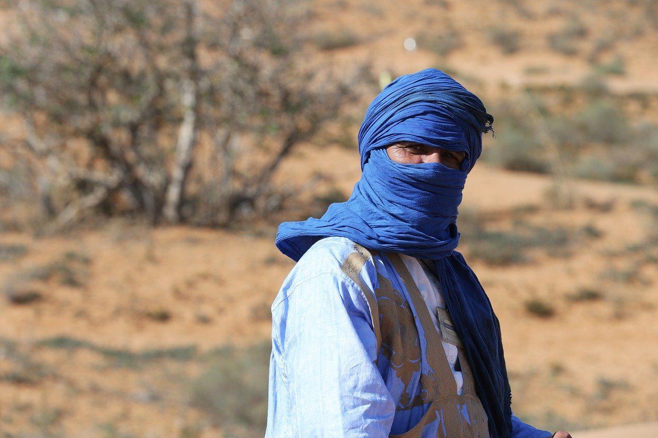 Nómada en el Sahara