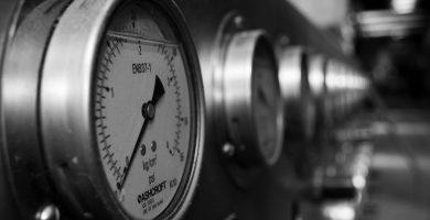 Elemento de medición de presión
