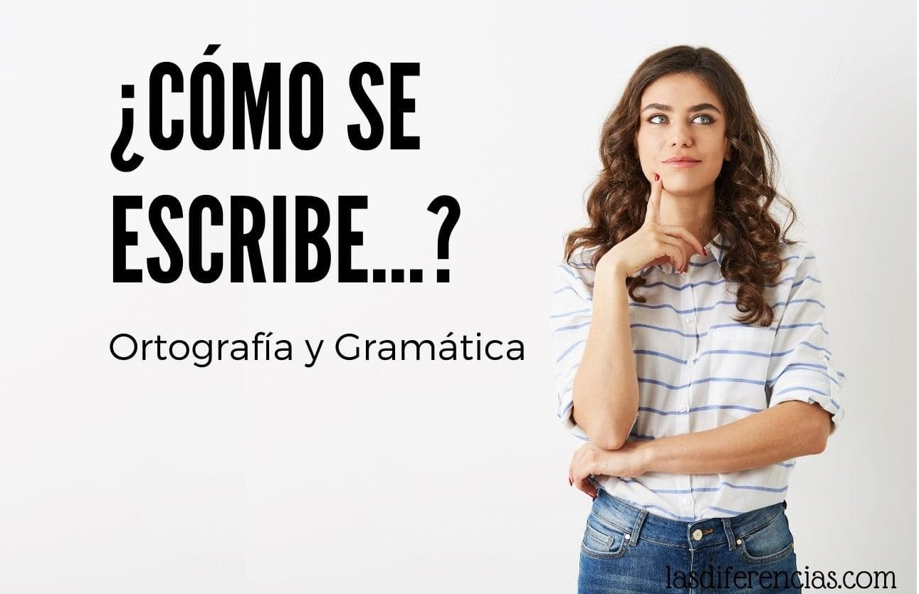 Mujer con una duda de Ortografía y gramática