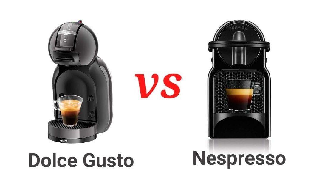 Comparativa entre Nespresso y Dolce Gusto
