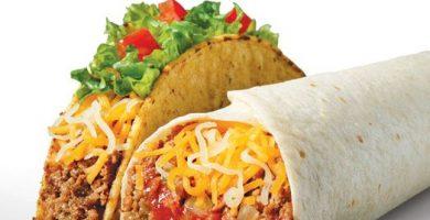Diferencia entre taco, burrito y fajita